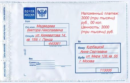Почта россии оплата штрафа